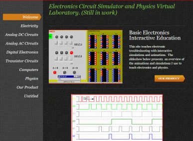 Electronics Course - Electronics Circuit Simulator and